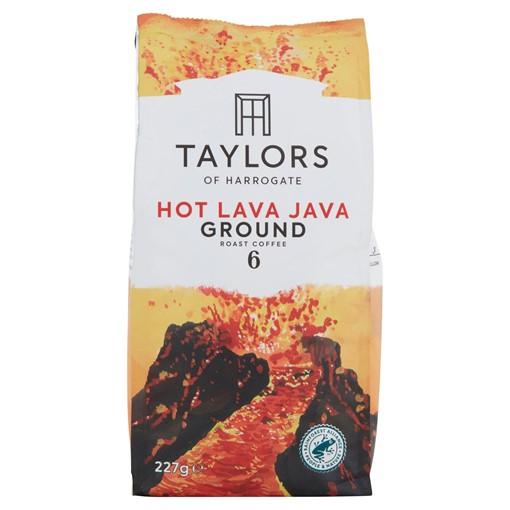Picture of Taylors of Harrogate Hot Lava Java Ground Roast Coffee 227g