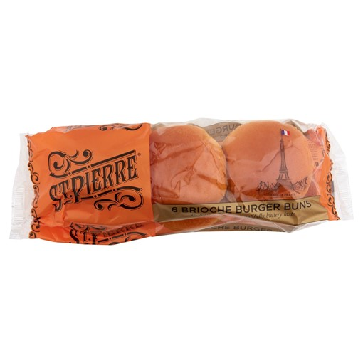 Picture of St. Pierre 6 Brioche Burger Buns