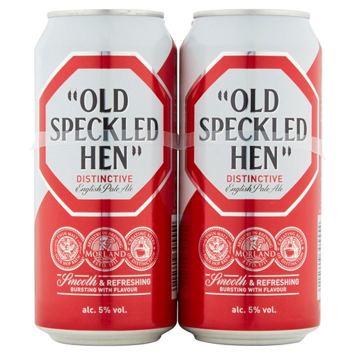 Picture of Old Speckled Hen Original Crafted Fine Ale 4 x 440ml