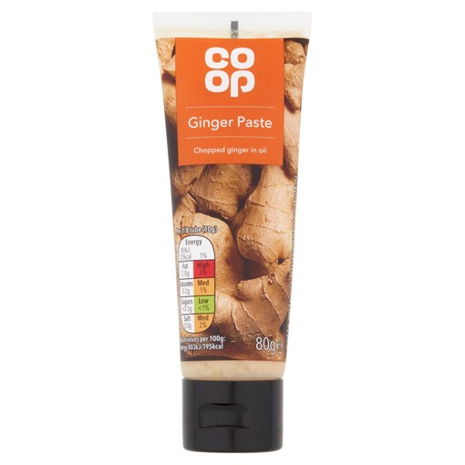Picture of Co-op Ginger Paste 80g