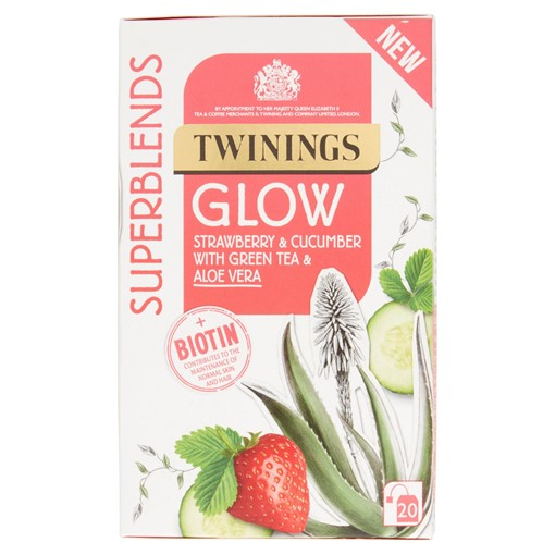 Picture of Twinings Superblends Glow Tea, 20 Tea Bags