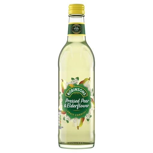 Picture of Robinsons Pressed Pear & Elderflower Fruit Cordial 500ml