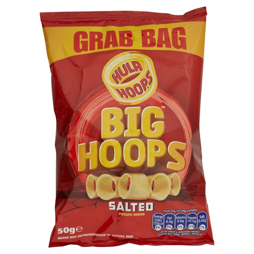 Picture of Hula Hoops Big Hoops Salted Potato Rings 50g
