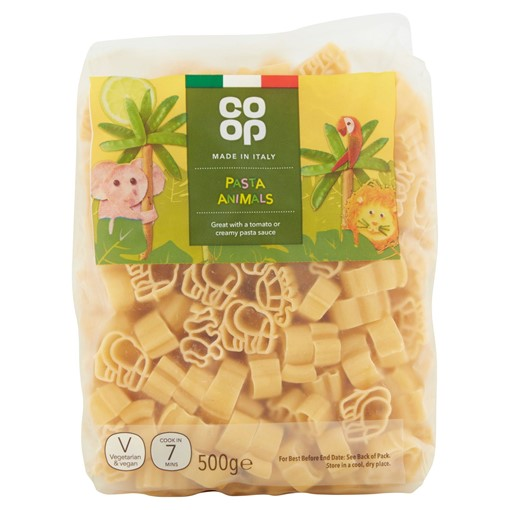 Picture of Co-op Pasta Animals 500g