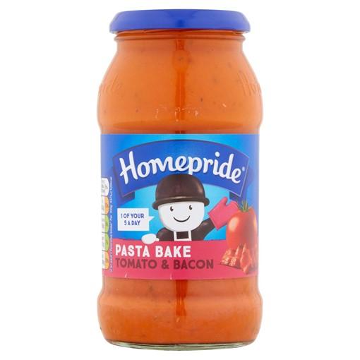 Picture of Homepride Pasta Bake Tomato & Bacon 485g