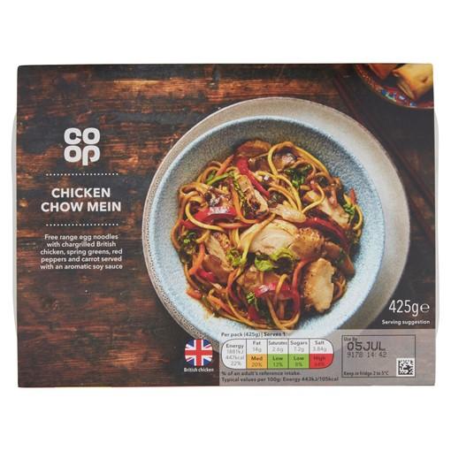Picture of Co-op Oriental Menu Chicken Chow Mein 425g