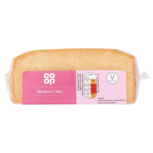 Picture of Co-op Madeira Cake