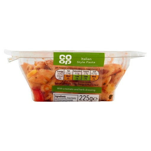 Picture of Co-op Italian Style Pasta with Charred Vegetables 225g