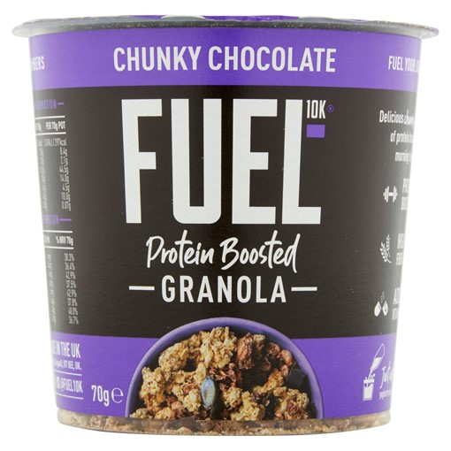Picture of FUEL10K Protein Boosted Chunky Chocolate Granola 70g