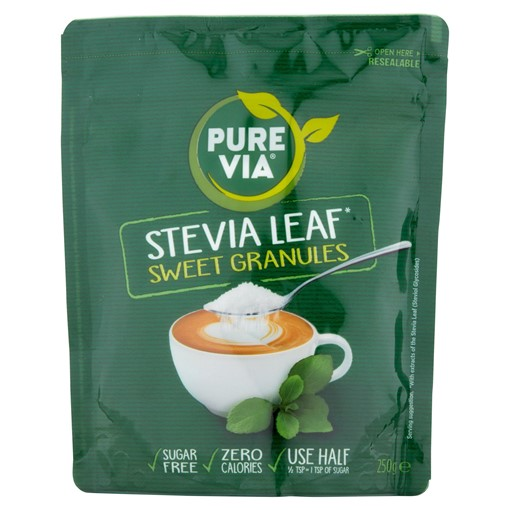 Picture of Pure Via® Stevia Leaf Sweet Granules 250g
