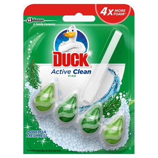 Picture of Duck Active Clean Toilet Rimblock Pine 38.6g
