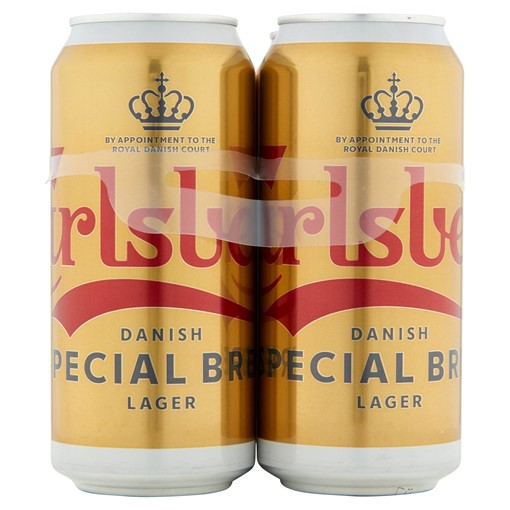 Picture of Carlsberg Special Brew Lager 4 x 440ml Cans