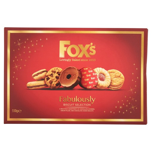 Picture of Foxs Fox's Biscuits Fabulously 550G