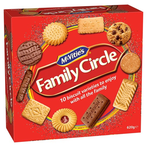 Picture of McVitie's Family Circle 620g