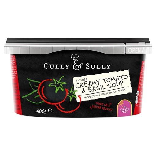 Picture of Cully & Sully A Velvet Creamy Tomato & Basil Soup 400g