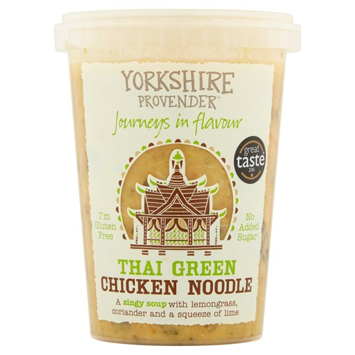 Picture of Yorkshire Provender Thai Green Chicken Noodle Soup 600g
