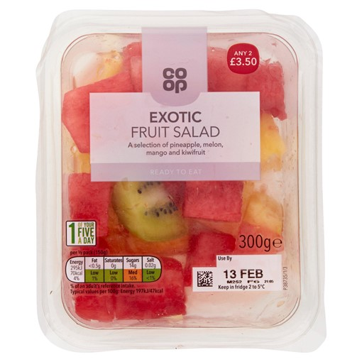 Picture of Co-op Exotic Fruit Salad 300g