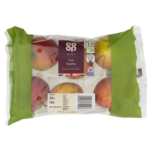 Picture of Co-op British Cox Apples