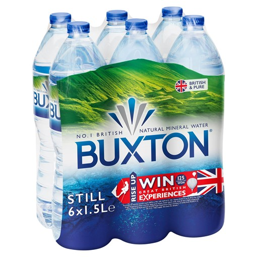 Picture of Buxton Still Natural Mineral Water 6 x 1.5L PET