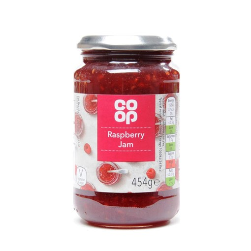 Co Op Raspberry Jam 454g