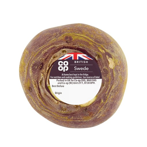 Co-op Wrapped Swede 500G