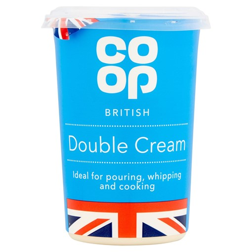 Picture of Co Op British Double Cream 600ml