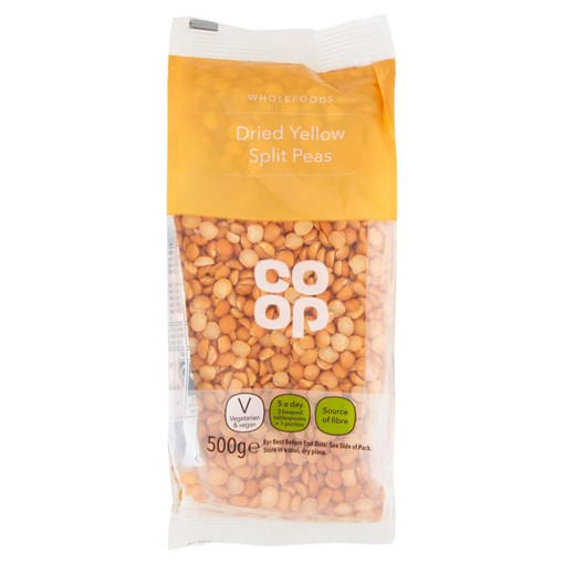 Picture of Co Op Dried Yellow Split Peas 500g