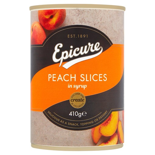 Picture of Epicure Peach Slices in Syrup 410g