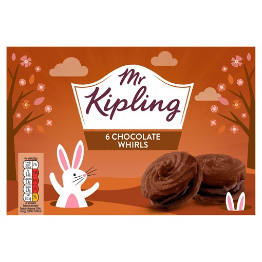 Picture of Mr Kipling 6 Chocolate Whirls