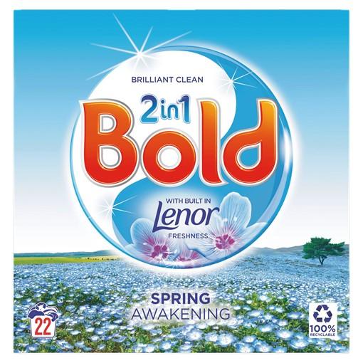 Picture of Bold 2in1 Washing Powder Spring Awakening 1.43Kg 22 Washes