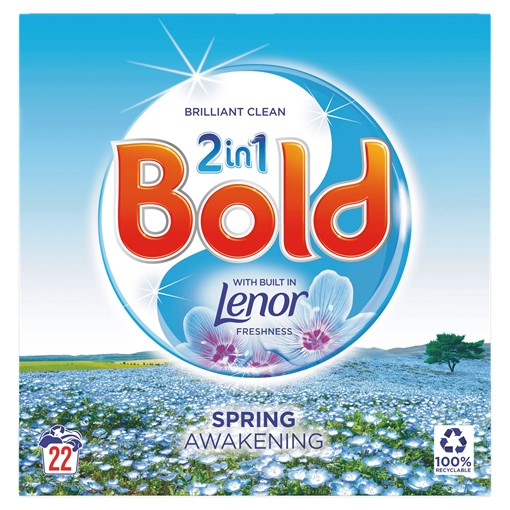Picture of Bold 2in1 Washing Powder Spring Awakening 1.4Kg 22 Washes