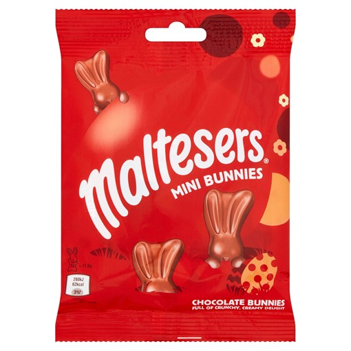 Picture of Maltesers Bunny Chocolate Easter Mini Bunnies Bag 58g