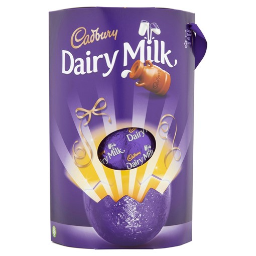 Picture of Cadbury Dairy Milk Large Easter Egg 311g