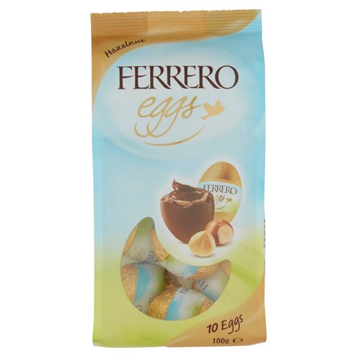 Picture of Ferrero Hazelnut and Chocolate Mini Easter Eggs 10 Pieces 100g