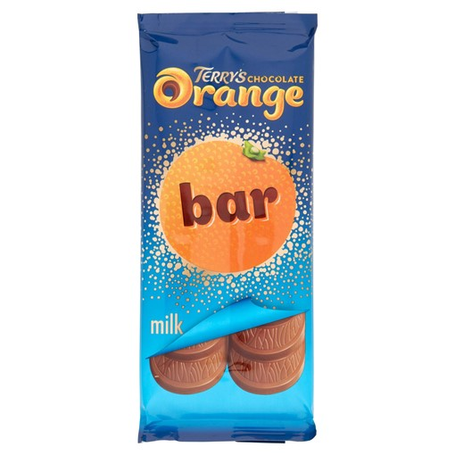 Picture of Terry's Chocolate Orange Milk Bar 90g