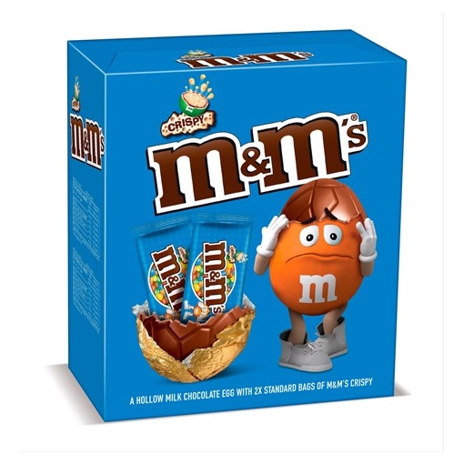 Picture of M&M's Crispy Chocolate Large Easter Egg 250g