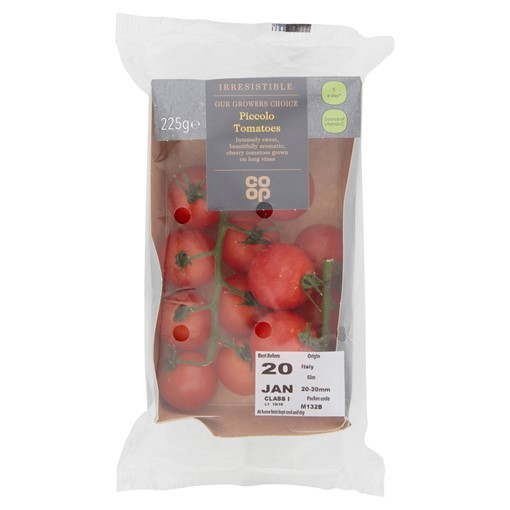 Picture of Co-op Irresistible Piccolo Tomatoes 225g