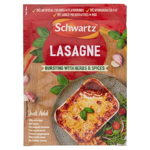 Picture of Schwartz Lasagne Recipe Mix 36g