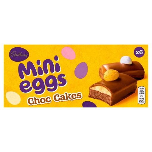 Picture of Cadbury 6 Mini Eggs Choc Cakes
