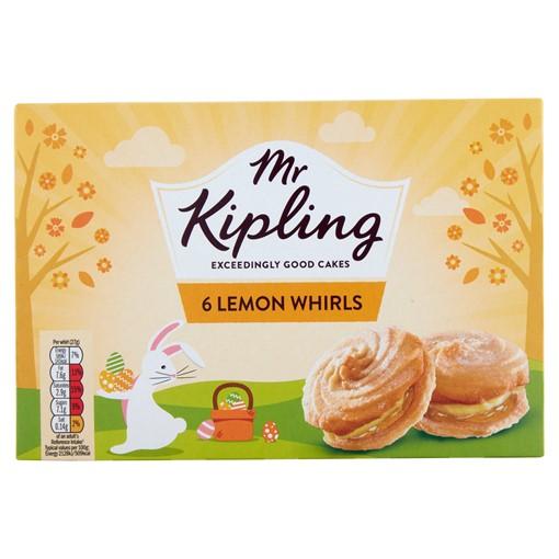 Picture of Mr Kipling 6 Lemon Whirls