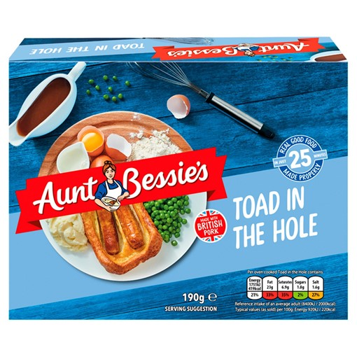 Picture of Aunt Bessie's Toad in the Hole 190g
