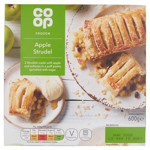 Picture of Co-op Frozen Apple Strudel 600g