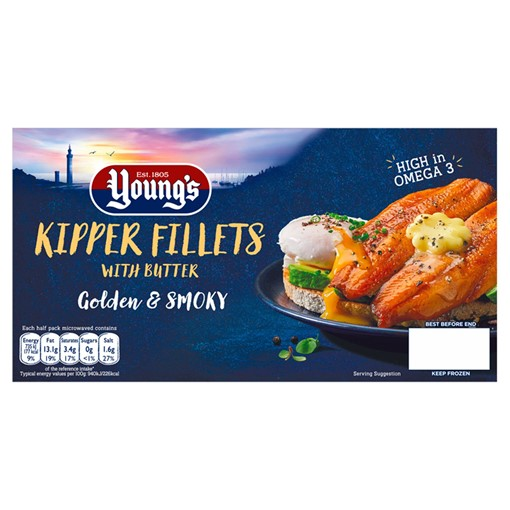 Picture of Young's Kipper Fillets with Butter 170g