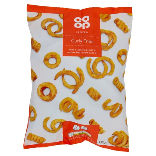 Picture of Co-op Frozen Curly Fries 750g