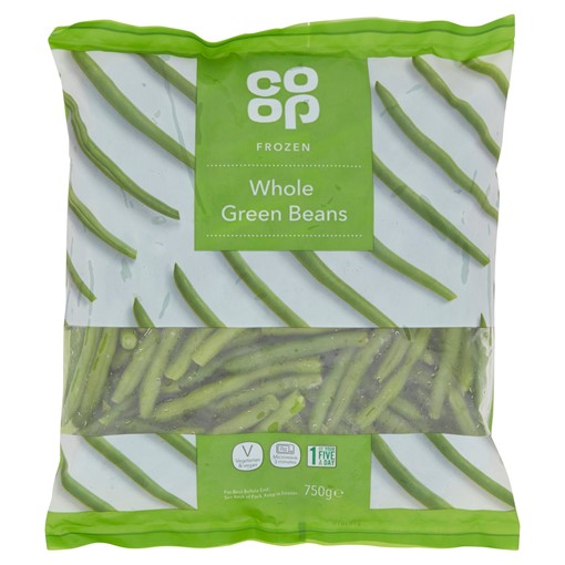 Picture of Co-op Frozen Whole Green Beans 750g