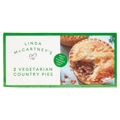 Picture of Linda McCartney's 2 Vegetarian Country Pies 380g