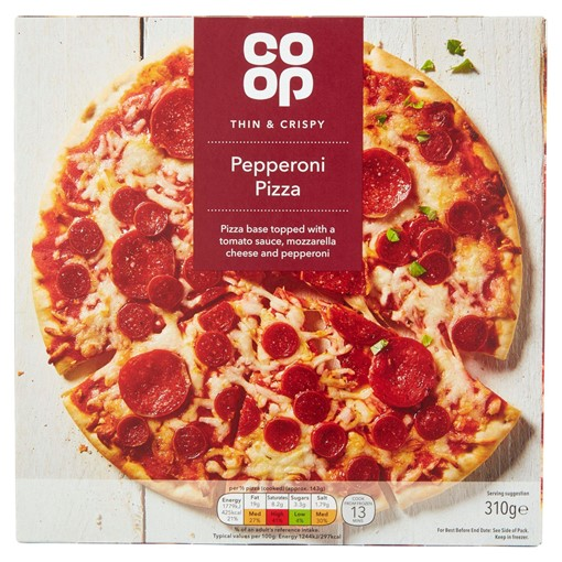 Picture of Co-op Pepperoni Pizza 310g