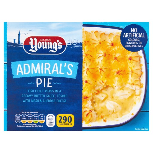 Picture of Young's Admirals Pie 320g