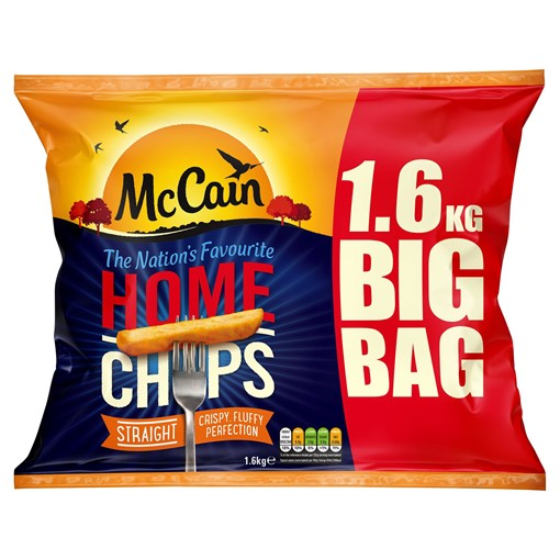 Picture of McCain Home Chips Straight 1.6kg
