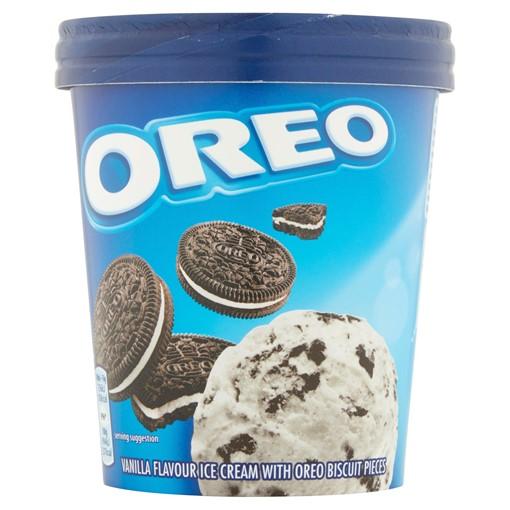 Picture of Oreo Ice Cream Tub 480ml
